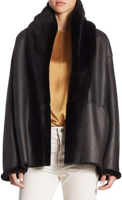 Vince Women's Reversible Shearling Coat