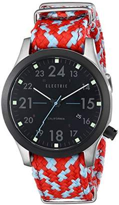 Electric Men's 'FW01 NATO Band' Quartz Stainless Steel and Nylon Sport watchMulti Color (Model: EW0010020042)