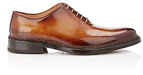 Fratelli Giacometti Men's Leather Wholecut Balmorals-Tan