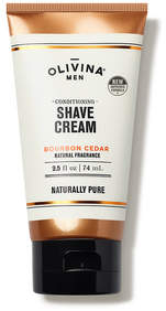 Olivina MEN Conditioning Shave Cream - Bourbon Cedar