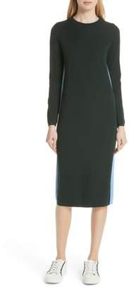 Tory Sport Double Stripe Cashmere Blend Sweater Dress