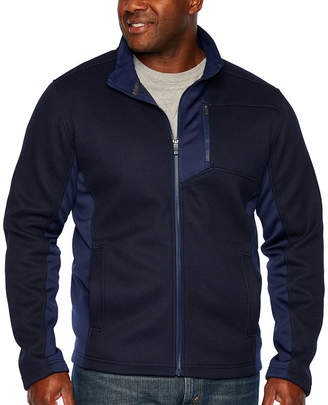 Izod Midweight Fleece Jacket - Big and Tall