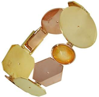 Lito Fine Jewelry Multi-Shape Opal Bracelet - Yellow and Rose Gold