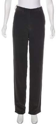 Neil Barrett Silk Mid-Rise Pants