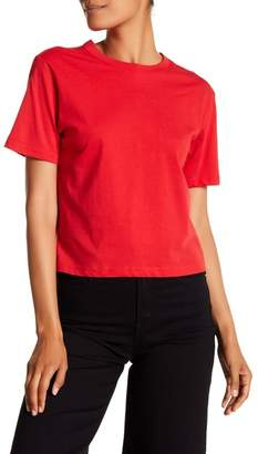 Contemporary Designer Back Twist Cutout Tee