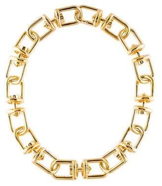 Eddie Borgo Fame Link Necklace