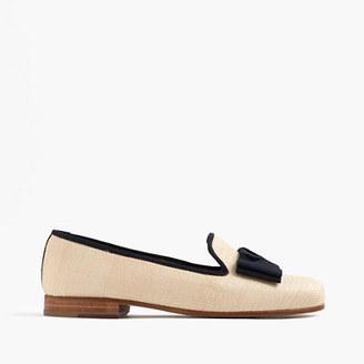 Stubbs & Wootton® raffia slippers $450 thestylecure.com