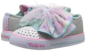 Skechers Twinkle Toes - Shuffles 10878N Lights Girl's Shoes