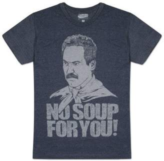 Ripple Junction Seinfeld Soup Nazi No Soup For You Mens T-Shirt