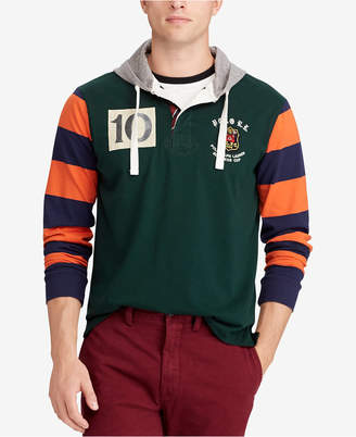 Polo Ralph Lauren Men's Classic Fit Cotton Rugby Hoodie