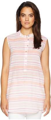 Fresh Produce Sorbet Button Tunic Women's Blouse