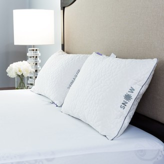 Protect A Bed Protect-A-Bed Therm-A-Sleep Back Sleeper Nordic Chill Fiber Pillow