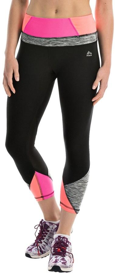 RBX Prime Multi Splice Yoga Capris (For Women)