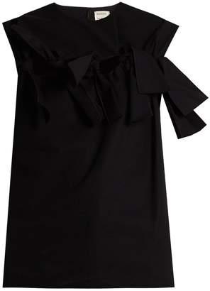 Maison Rabih Kayrouz Knot-front sleeveless cotton top