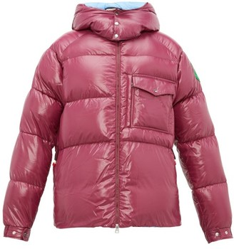 Moncler 2 1952 - Barthet Quilted Shell Padded Jacket - Mens - Purple