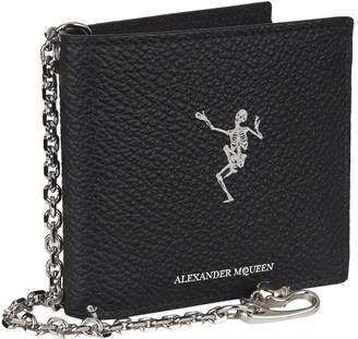Alexander McQueen Dancing Skeleton Chain Wallet