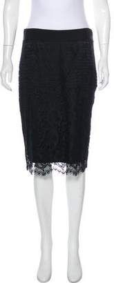 Diane von Furstenberg Noria Lace Skirt