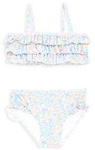 Ralph Lauren Baby Girl's Ruffled Two-Piece Swimsuit