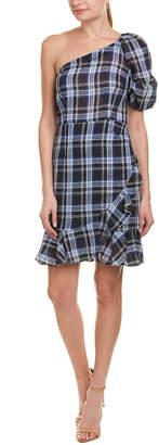 Donna Morgan Linen-Blend Sheath Dress