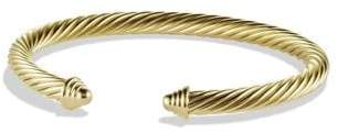 David Yurman Cable Classics Bracelet In 18K Gold, 5Mm