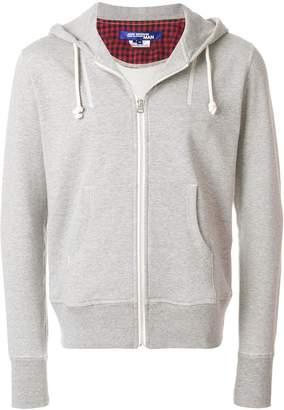 Junya Watanabe cropped zip front hoodie