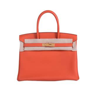 Hermes Birkin 30 leather handbag