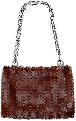 Paco Rabanne Brown Leather Handbag