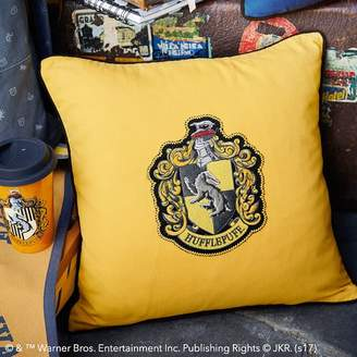 Pottery Barn Teen HARRY POTTER House Patch Hufflepuff Pillow Cover, 16x16