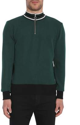 Ami Alexandre Mattiussi Zipped Turtle Neck Sweater