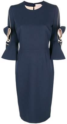 Roksanda bow-tied midi dress