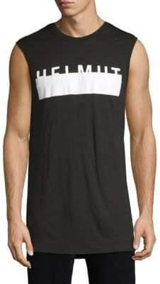 Helmut Lang Logo Muscle Tank