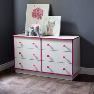 South Shore Furniture South Shore Logik 6-Drawer Double Dresser, Multiple Finishes