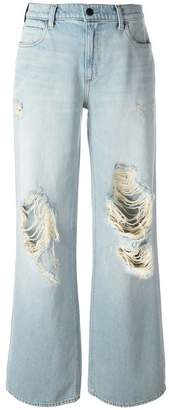 Alexander Wang wide-leg jeans
