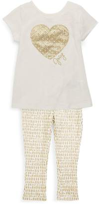 Juicy Couture Little Girl's Two-Piece Top and Leggings Set