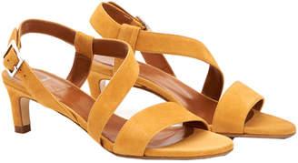 Aquatalia Tana Waterproof Suede Sandal