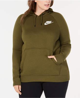 Nike Plus Size Sportswear Rally Fleece Hoodie