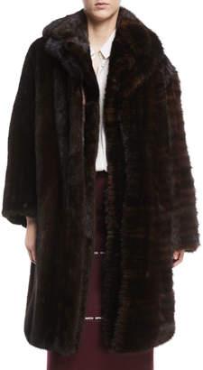 Vetements Milanesa Reworked Mink Fur Coat