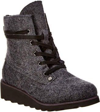 BearPaw Krista Never Wet Water-Resistant Wool Boot