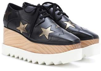 Stella McCartney Elyse Star platform Derby shoes