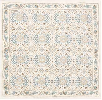 Eton Mosaic Silk Pocket Square