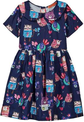 Funkyberry Doodle Dress (Toddler Girls)