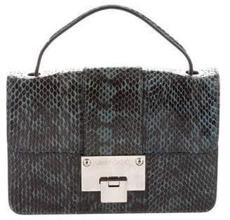 Jimmy Choo Rebel Mini Snakeskin Crossbody Bag