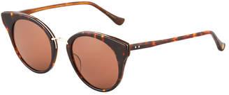Dita Oversized Round Acetate Sunglasses