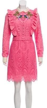 Gucci Lace Knee-Length Dress