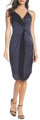 Harlyn Twist Front Cocktail Dress