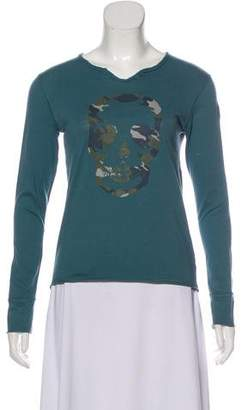 Zadig & Voltaire Graphic Print Long Sleeve T-Shirt