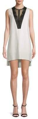 Lanvin Lace Hi-Lo Dress