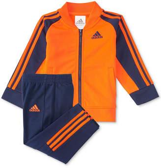 adidas 2-Pc. Short Stop Jacket & Pants Set, Little Boys