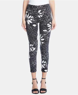Karen Kane Printed Pull-On Pants