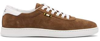 Aprix Low Top Suede Trainers - Mens - Brown Multi